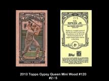 2013 Topps Gypsy Queen Mini Wood #120