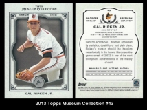 2013 Topps Museum Collection #43