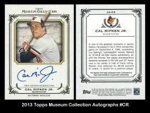 2013 Topps Museum Collection Autographs #CR