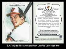 2013 Topps Museum Collection Canvas Collection #10