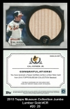 2013 Topps Museum Collection Jumbo Lumber Gold #CR