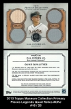 2013 Topps Museum Collection Primary Pieces Legends Quad Relics #CRJ