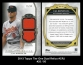 2013 Topps Tier One Dual Relics #CRJ