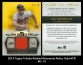 2013 Topps Tribute Retired Remnants Relics Gold #CR