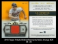 2013 Topps Tribute Retired Remnants Relics Orange #CR