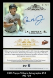2013 Topps Tribute Autographs #CR