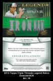 2013 Topps Triple Threads Legend Relics Emerald #CR