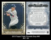 2013 Topps Triple Threads Onyx #45