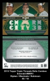 2013 Topps Triple Threads Relic Combos Emerald #MRR1