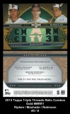 2013 Topps Triple Threads Relic Combos Gold #MRR1