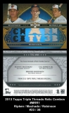 2013 Topps Triple Threads Relic Combos #MRR1