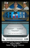 2013 Topps Triple Threads Relic Combos Sapphire #MRR1