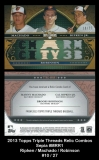 2013 Topps Triple Threads Relic Combos Sepia #MRR1