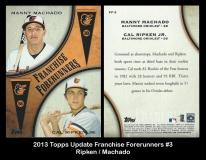 2013 Topps Update Franchise Forerunners #3