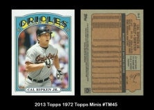 2013 Topps 1972 Topps Minis #TM45