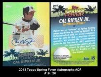 2013 Topps Spring Fever Autographs #CR