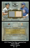 2013 Topps FIve Star Legends Dual Relics #RGW