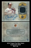 2013 Topps FIve Star Patch Autographs #CR
