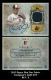 2013 Topps Five Star Patch Autographs Gold #CR