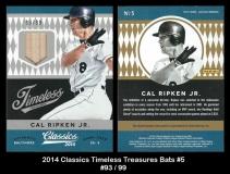 2014 Classics Timeless Treasures Bats #5