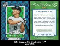 2014 Donruss The Elite Series #17A