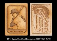 2014 Gypsy Oak Wood Engravings 1981 TCMA #NNO