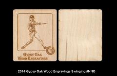 2014 Gypsy Oak Wood Engravings Swinging #NNO