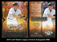 2014 Leaf Ripken Legacy Ironman Autographs #IM2