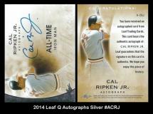 2014 Leaf Q Autographs Silver #ACRJ