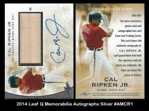 2014 leaf Q Memorabilia Autographs Silver #AMCR1