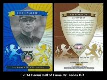 2014 Panini Hall of Fame Crusades #91
