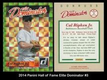 2014 Panini Hall of Fame Elite Dominator #3