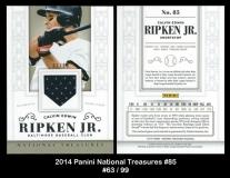 2014 Panini National Treasures #85