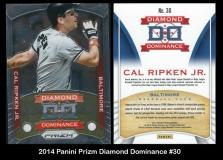 2014 Panini Prizm Diamond Dominance #30