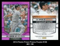 2014 Panini Prizm Prizms Purple #159