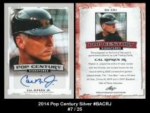 2014 Pop Century Silver #BACRJ
