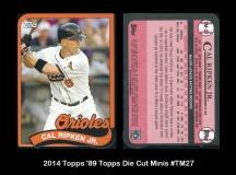 2014 Topps '89 Topps Die Cut Minis #TM27
