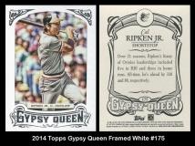 2014 Topps Gypsy Queen Framed White #175