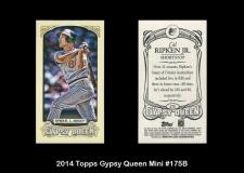 2014 Topps Gypsy Queen Mini #175B