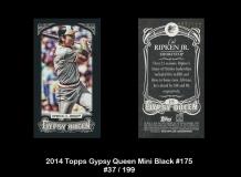 2014 Topps Gypsy Queen Mini Black #175