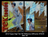 2014 Topps High Tek '00 TEKtonics DIffractor #TDCD