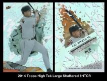2014 Topps High Tek Large Shattered #HTCR