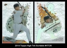 2014 Topps High Tek Scribble #HTCR