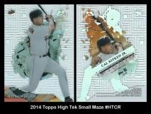2014 Topps High Tek Small Maze #HTCR
