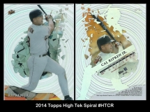 2014 Topps High Tek Spiral #HTCR