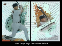 2014 Topps High Tek Stripes #HTCR