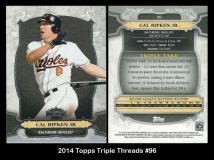 2014 Topps Triple Threads #96