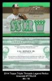 2014 Topps Triple Threads Legend Relics Emerald #TTRLCR
