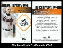 2014 Topps Update Fond Farewells #FFCR