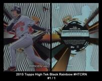 2015 Topps High Tek Black Rainbow #HTCRN